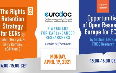 Eurodoc spletna seminarja za raziskovalce